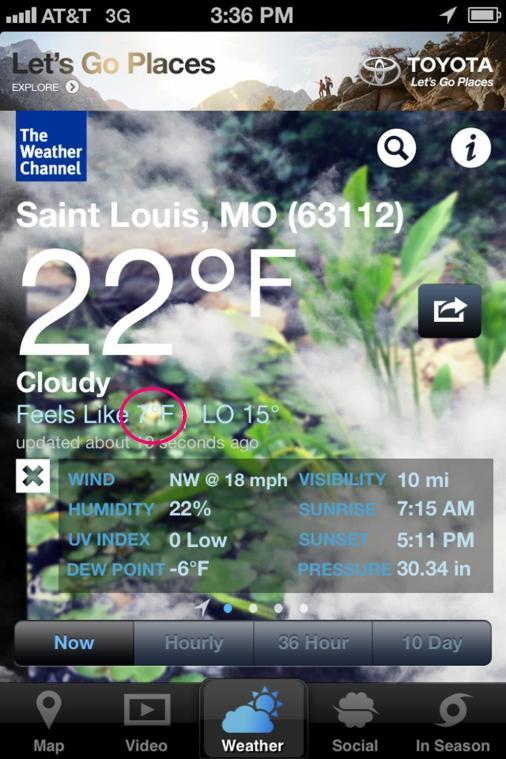 7 degrees