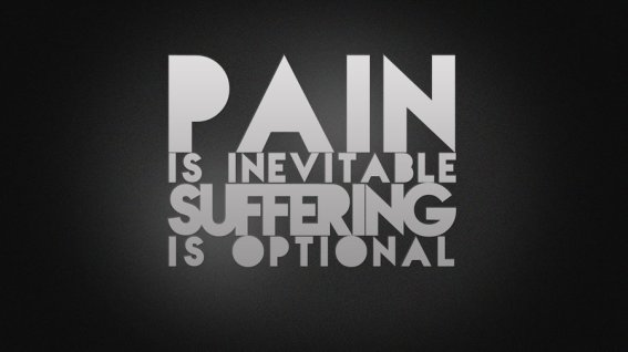 suffering optional