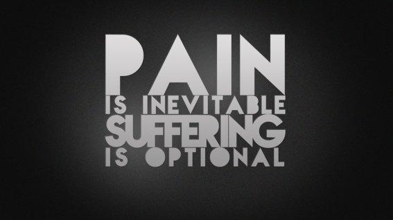 suffering optional