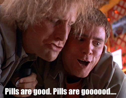 pills are good