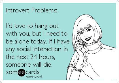 introvert ecard
