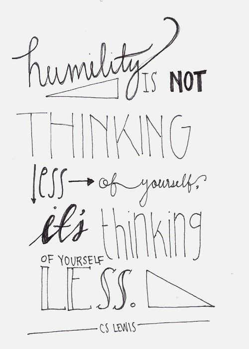 examples of humility