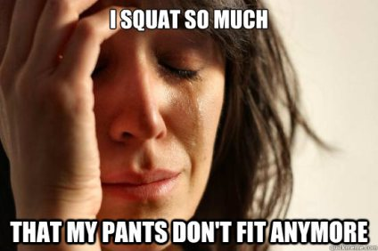 too many squats